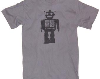 Mens FUTURISTIC ROBOT T-shirt