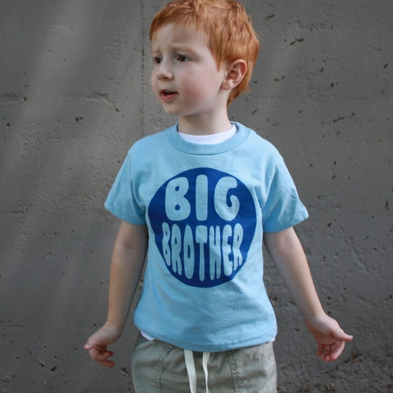 Kids BIG BROTHER T Shirt