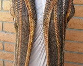 Versatile Long Knit Vest Pattern * Suited to Beginners