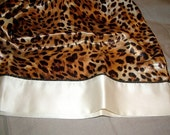 Sexy Satin Leopard Print Set of Pillow Cases