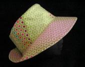 Sunhat Summer Hat Reversible Fabric Hat Headwear Cloche