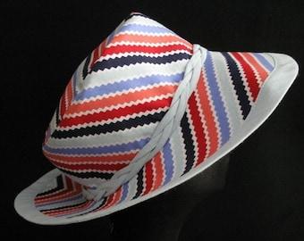 Reversible Summer Hat Sunhat Fabric Hat Headwear