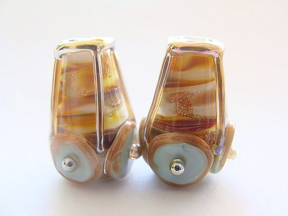 Handmade Lampwork Pair