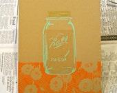 Moonshine Block Print