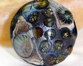 Adis Interchangeable Jewelry - Handmade Lampwork Glass Ringtop