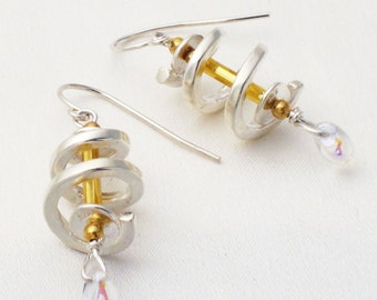 Twist earrings - you choose the color
