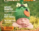 Knit GLITZY PUMPKIN Baby Hat- Childrens Pumpkin hat- Crochet Hat- Fall colored Baby hat- Harvest Pumpkin hat-