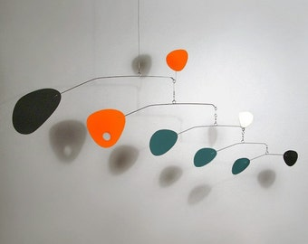 Modernist mobile by Julie Frith