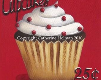 Cupcake Print Cupcakes 25 cents