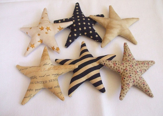 Primitive Americana  Stars and Stripes Bowl Fillers