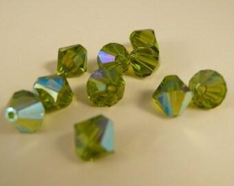8 mm Swarovski Bicone Crystals