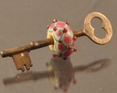 Antique Key with bead