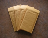 40 Self Sealer Bubble Mailers 4 x 8 Padded Kraft