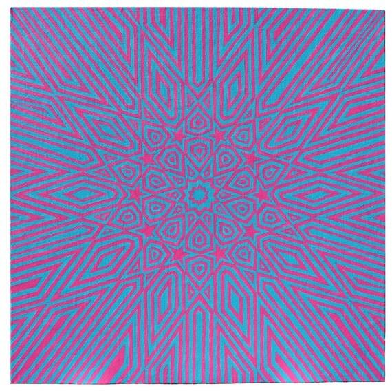 Vibrations - 16x16 Painting