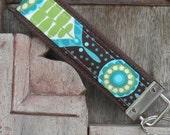 READY TO SHIP-Beautiful Key Fob/Keychain/Wristlet-Petals