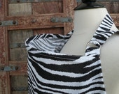 Beautiful Nursing Cover-Zebra-Free Shipping When Purchased With A Wrap