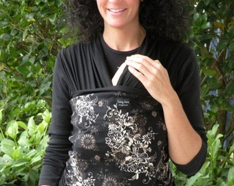Baby Sling-ORGANIC COTTON Baby Wrap-Zen- DvD Included-ONe Size Fits All- Newborn- Toddler