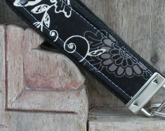 READY TO SHIP-Beautiful Key Fob/Keychain/Wristlet-Zen