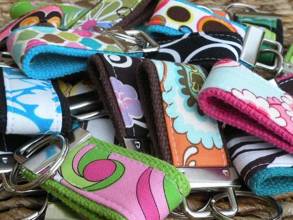 Grab Bag-10 BEAUTIFUL MINI-MINI Keychains-That's 3.20 Per Fob-Perfect Holiday Gift
