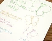 10 Butterfly Love Invitations
