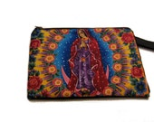Our Lady Of Guadalupe Wristlet