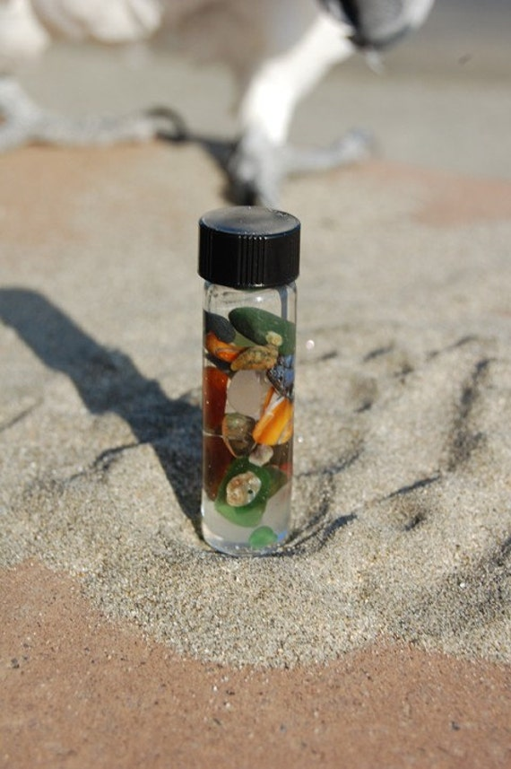 Solstice Gift of the Sea- Large Ocean Vial- Citrine Sun Limited Edition Series 2 of 3