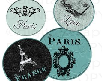 Buy 1 Get 1 Free PaRiS ViNtaGe France LoVe No3 Eiffel Tower Parisian Digital Collage Sheet