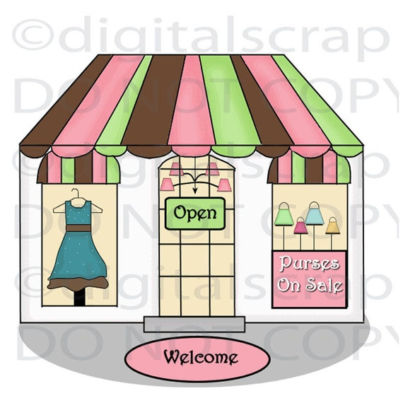 free clipart clothes shopping - photo #40