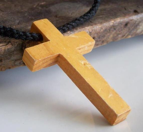 Etsy, DOLLAR DAZE Wooden Cross Art Supply, Jewelry Supply, Christian Charm, Etsy Jewelry, Destash, Wood Cross, Altered Art Supply
