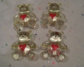 Destash - Bear Beads Set of 5