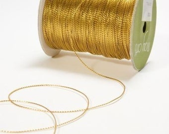 Gold Cord - Ribbon - Cord - May Arts Gold Cord 10 yards