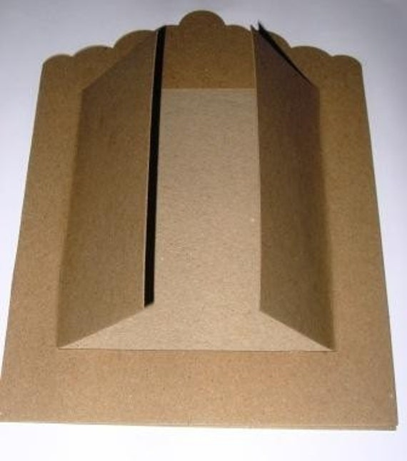 Large Chipboard Shrine for Altering