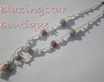 Stones of Glass Necklace