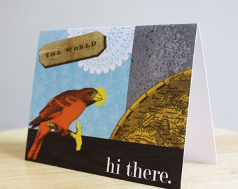 CLEARANCE SALE - Bird Friends 5 Pack Note Cards