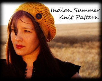 Indian Summer Knit Pattern PDF