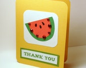 notecard. thank you. watermelon.