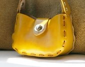 mini hillside bag, marigold