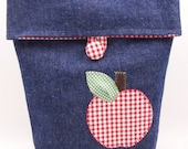 Fabric Lunch Sack Earth Friendly