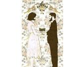 FLORIDA WEDDING (Folded Note Card and Envelope)