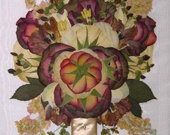 11 x 14 Bridal Bouquet Preservation