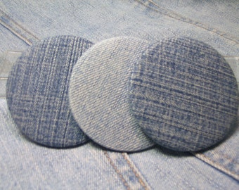 Recycled Denim Pocket Mirror