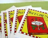 Printable Kitchen Coloring Book