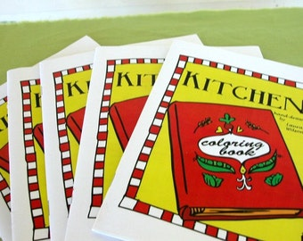 Printable Kitchen Coloring Book