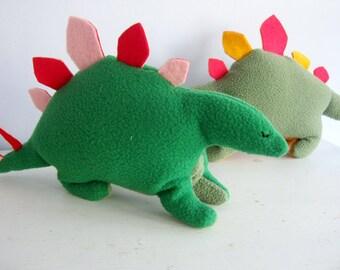 Stegosaurus Dinosaur Plush Pattern