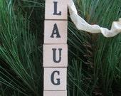 LAUGH Vintage Letter Tiles