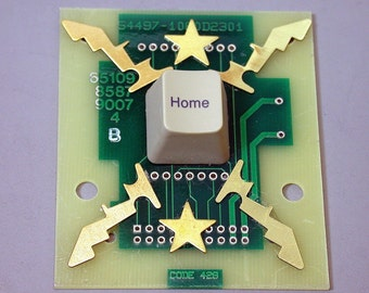 RECYCLED CIRCUIT BOARD Geekery Magnet Eco Friendly