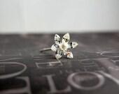 Sparkling Marquis Rhinestone Flower Bridal / Formal Hairpins   HP-18