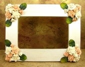 Chic Bouquet of Roses Picture Frame