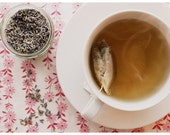 Lavender and Camomile, photograph, 5x7, kitchen, tea time
