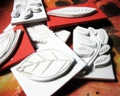Hand Carved Stamps- Fall Leaves